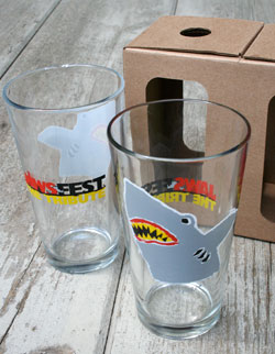 JawsFest Pint Glasses
