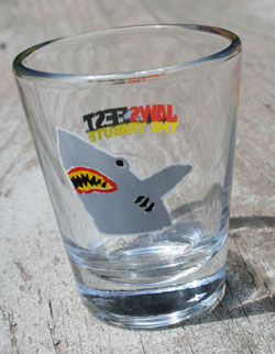 JawsFest Shot Glass