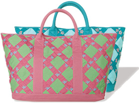 Criss Cross Beach Bag